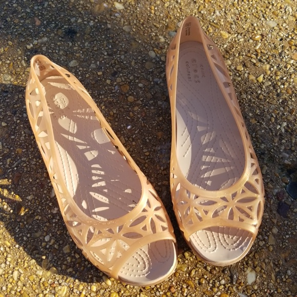 588e4f07409f CROCS Shoes - Women s Crocs Isabella Jelly II Flats